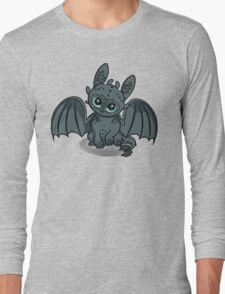 How to Train Your Baby Dragon Long Sleeve T-Shirt
