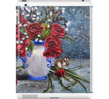Acrylic Floral study 2 iPad Case/Skin