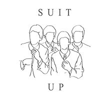 suit up Photographic Print