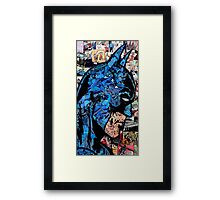 Batman Comic Superhero Framed Print