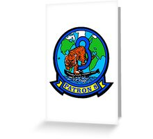 VP-8 Tigers Greeting Card