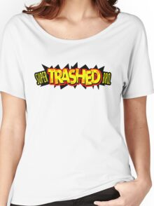 """Super Trashed Bro"" Super Smash Bros. Parody Spoof N64 Women's Relaxed Fit T-Shirt"