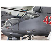 attack helicopter Poster