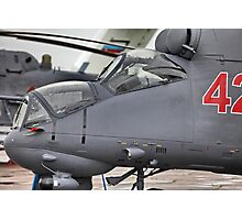 attack helicopter Photographic Print