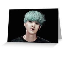 BTS Suga 07 Greeting Card