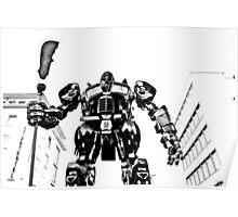 """Transformer (""""Guan Gong"""" by Bi Heng) Poster"""