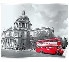 Red Routemaster - Revisited Poster
