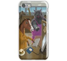Animal Office iPhone Case/Skin