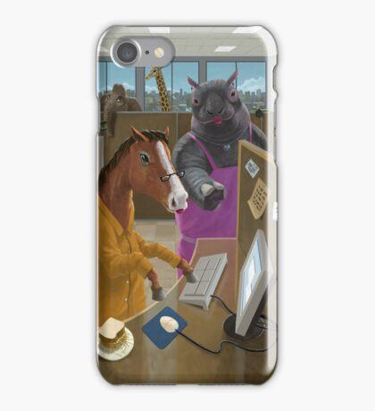 Animal Office iPhone Case/Skin
