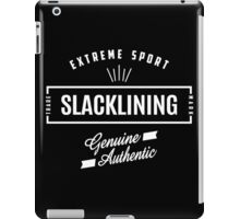 Slacklining Extreme Sport Graphic Art iPad Case/Skin