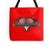 Barracuda Heart Tote Bag