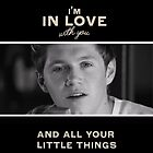One Direction Little Things Niall by gleviosa