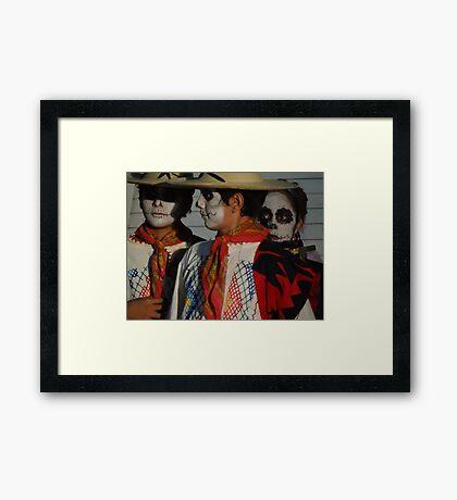 Day Of Death - Dia De Los Muertos Framed Print