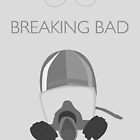 Breaking Bad //Minimal Print - Grey by Nik Jones