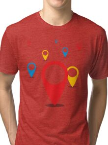 GeoLocations Tri-blend T-Shirt