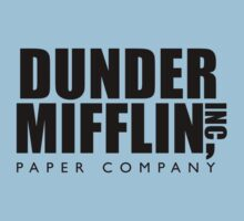 Dunder Mifflin Inc. by drtees