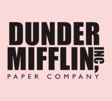 Dunder Mifflin Inc. Baby Tee