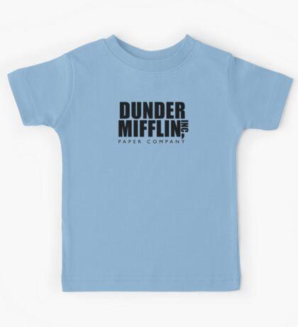 Dunder Mifflin Inc. Kids Tee