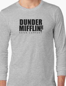 Dunder Mifflin Inc. Long Sleeve T-Shirt