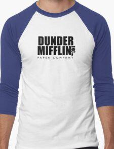 Dunder Mifflin Inc. Men's Baseball ¾ T-Shirt