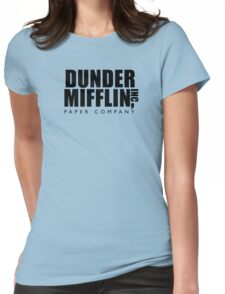 Dunder Mifflin Inc. Womens Fitted T-Shirt