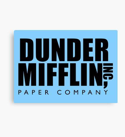 Dunder Mifflin Inc. Canvas Print