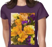 Flowers From Hannah Womens Fitted T-Shirt