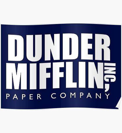 Dunder Mifflin Inc. Poster