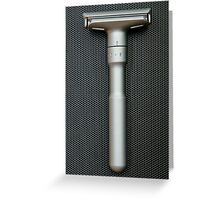 Merkur Futur - safety razor Greeting Card