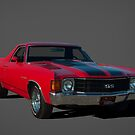 1972 Chevrolet El Camino SS by TeeMack