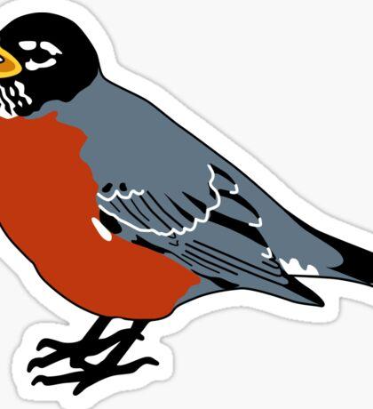 American Robin Bird Sticker