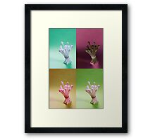 Buds packed tight Framed Print