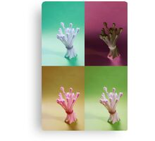 Buds packed tight Canvas Print