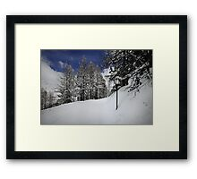 Welcome to Narnia Framed Print