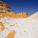 White Desert Egypt by Nigel Fletcher-Jones