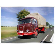 Classic Trucks # 12 Poster