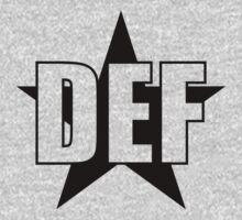 DEF STAR One Piece - Short Sleeve