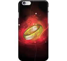 the ring of power iPhone Case/Skin