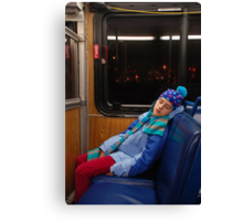 commuter Canvas Print