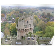 Ceasar's Tower - Warwick Castle Poster