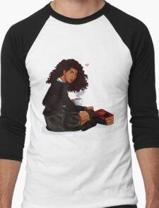 Books and Butterbeer Men's Baseball ¾ T-Shirt