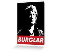 Bilbo the Burglar Greeting Card