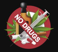 no drugs Baby Tee