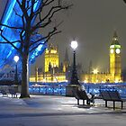 London at night by Andre Rickerby