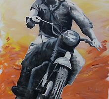 Steve McQueen by Gary Hogben