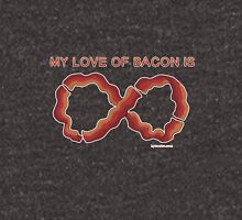 Baconfinity Mens V-Neck T-Shirt