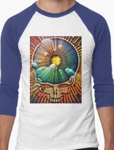 Fire Wheel Men's Baseball ¾ T-Shirt