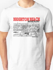 Brighton Beach Avenue Storefronts T-Shirt