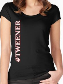 #TWEENER Wrestling Shirt Women's Fitted Scoop T-Shirt