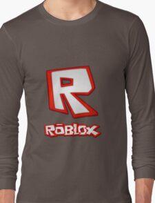 Roblox R Logo Long Sleeve T-Shirt